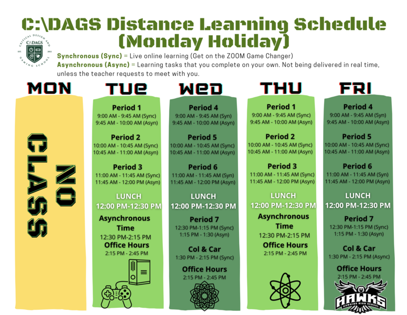 C:\DAGS Schedule for Week of 1.19 Featured Photo