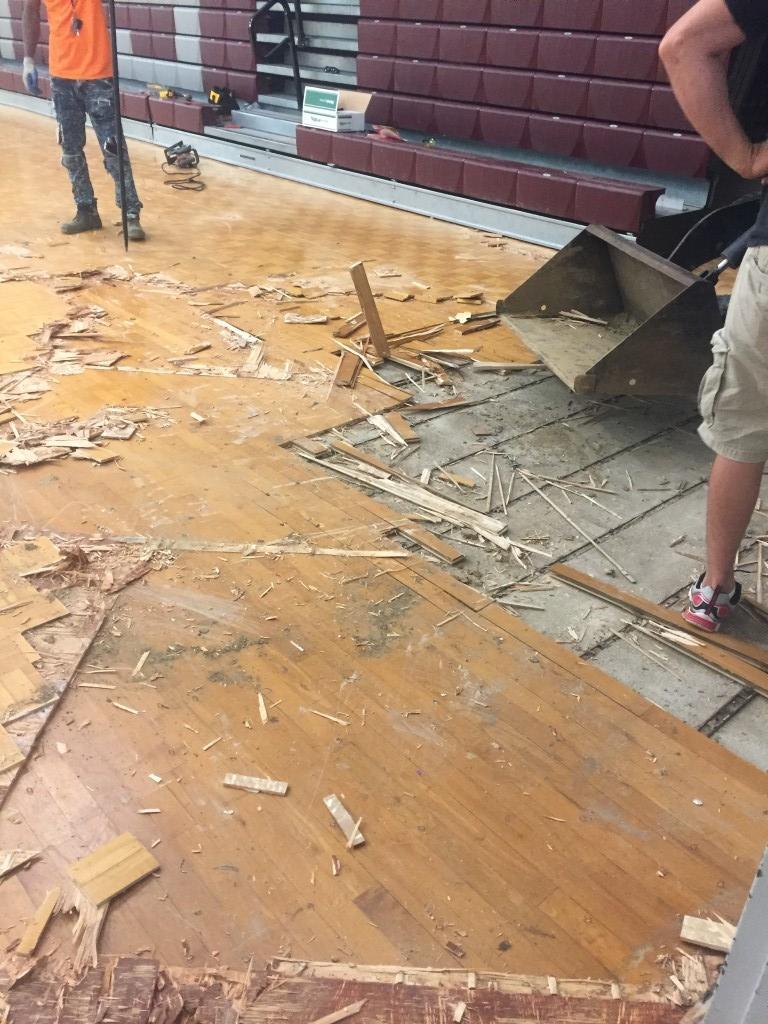 07/31/2017 Gym floor