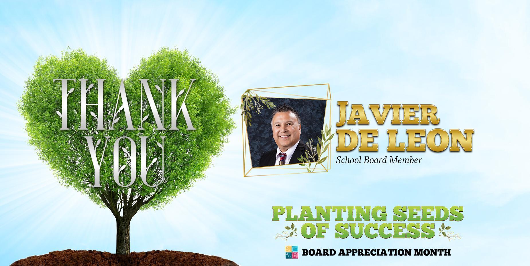 Thank You Javier De Leon