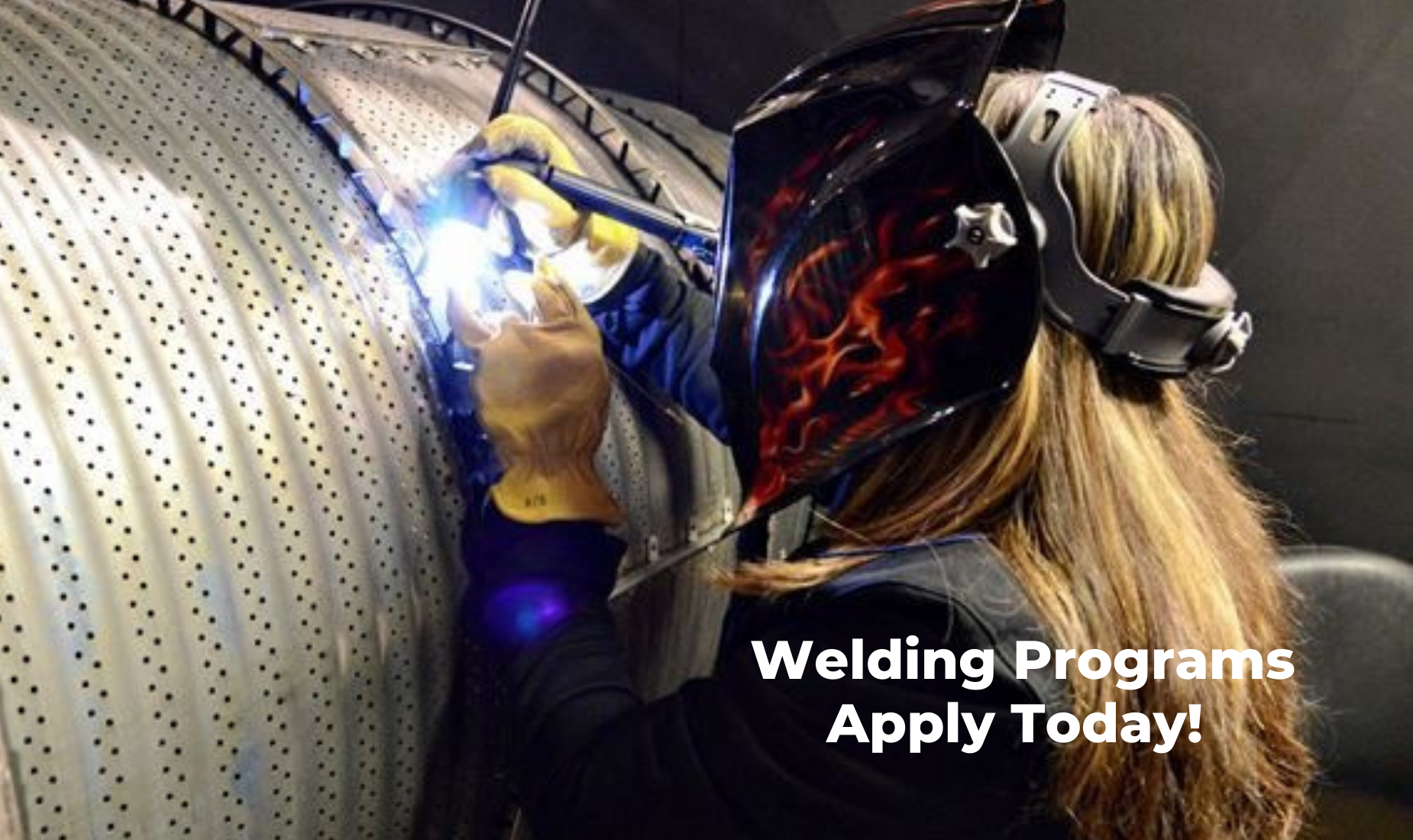 Welding program for adults
