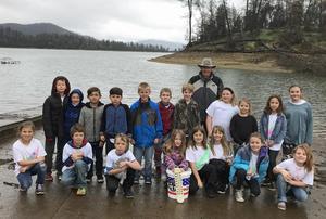 3rd Grade at Whiskeytown Lake