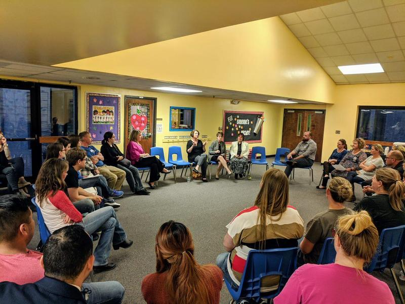 WTSD Parents at the Meeting 10/30/18