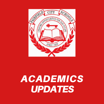 Graphic that reads Academics Updates