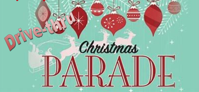 christmas drive by parade