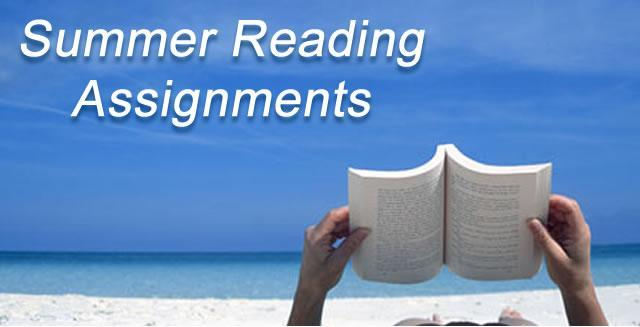 High School Summer Reading Assignments (Grades 9-12) Featured Photo