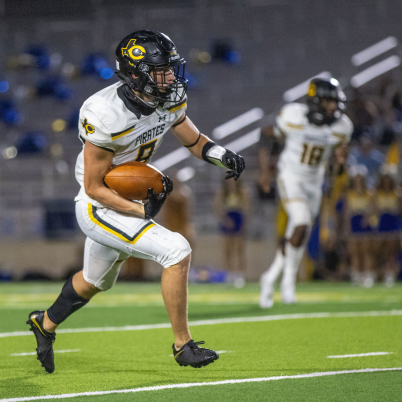 Opposing offenses beware: Crandall safety Mason Daugherty makes interceptions look easy as 1-2-3 Featured Photo