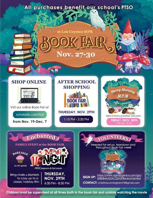 Book Fair Fall 2018