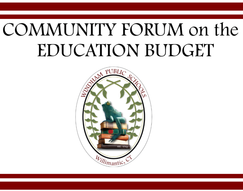 Community Forum on the Education Budget January 16 – Share your suggestions for budget development Thumbnail Image