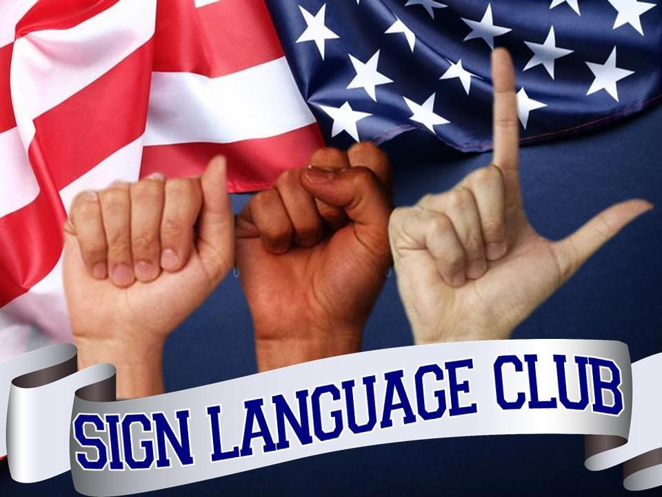 ASL Sign Language Club