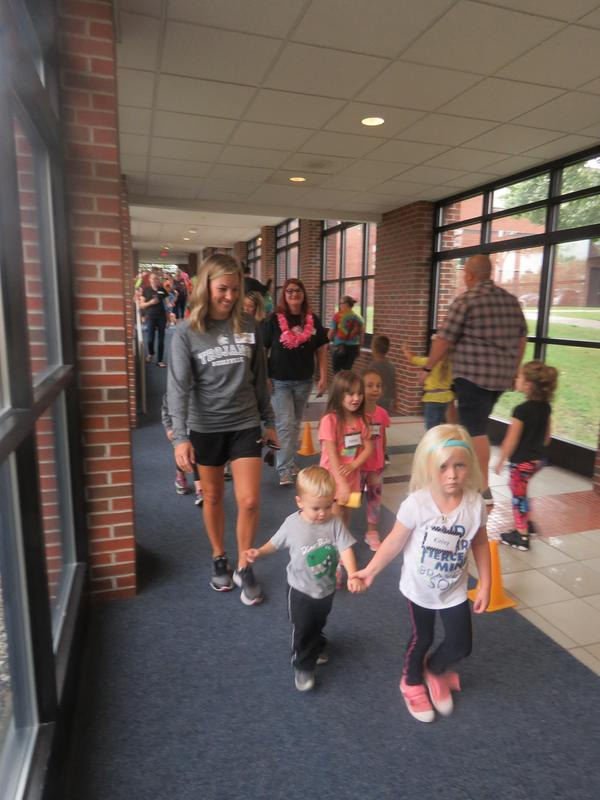 It was so great to see so many families participate.