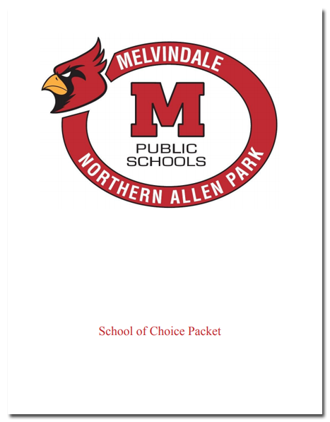 MelNAP School of Choice Packet