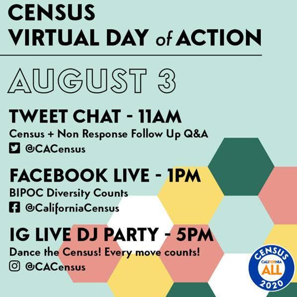 Census Virtual Day of Action TODAY! Featured Photo