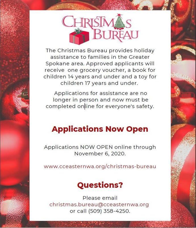 Christmas Bureau moves to online application due to COVID-19 Thumbnail Image