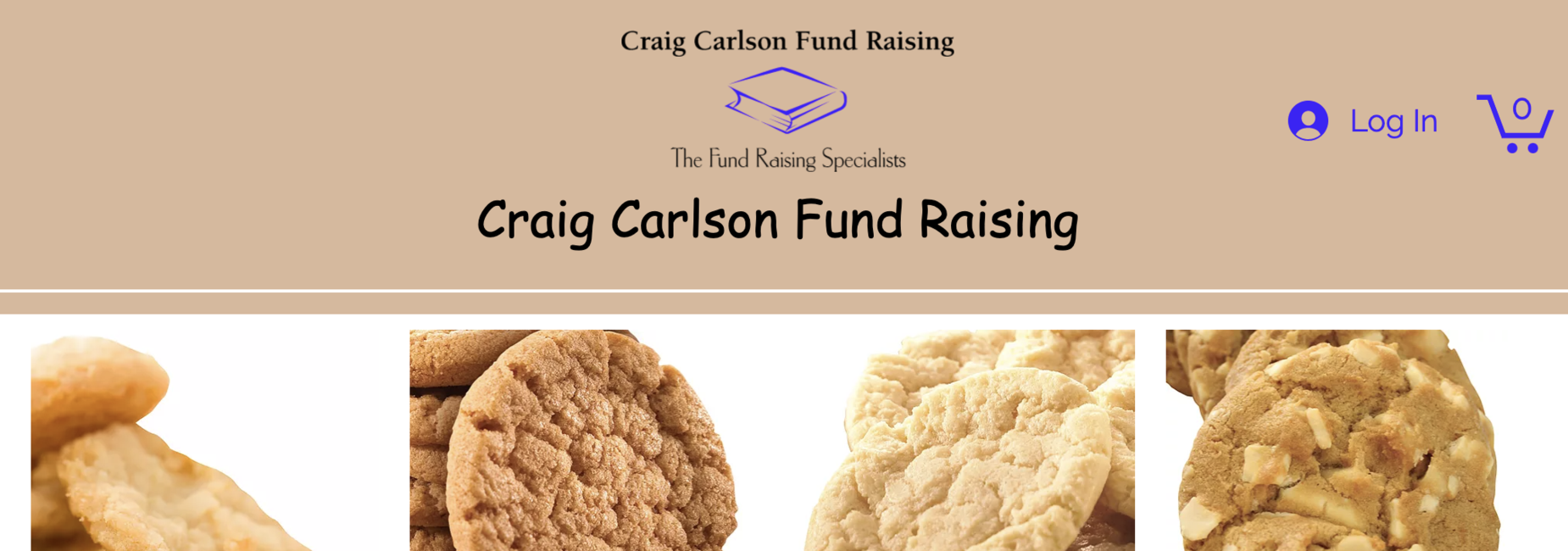 Support our school by buying cookie dough - yummy!