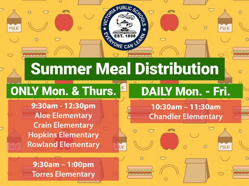 Summer Meal Distribution Begins Monday, June 1 Thumbnail Image