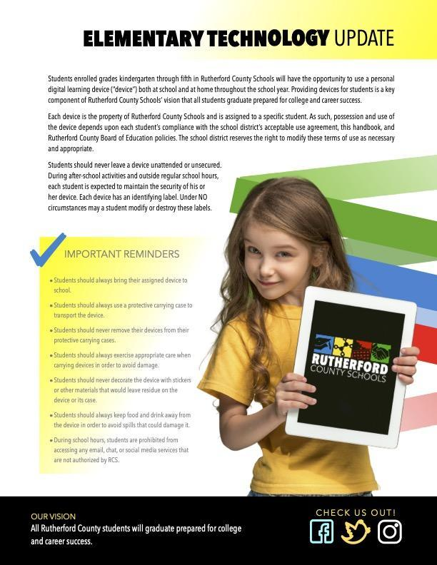 Elementary Technology Update Featured Photo