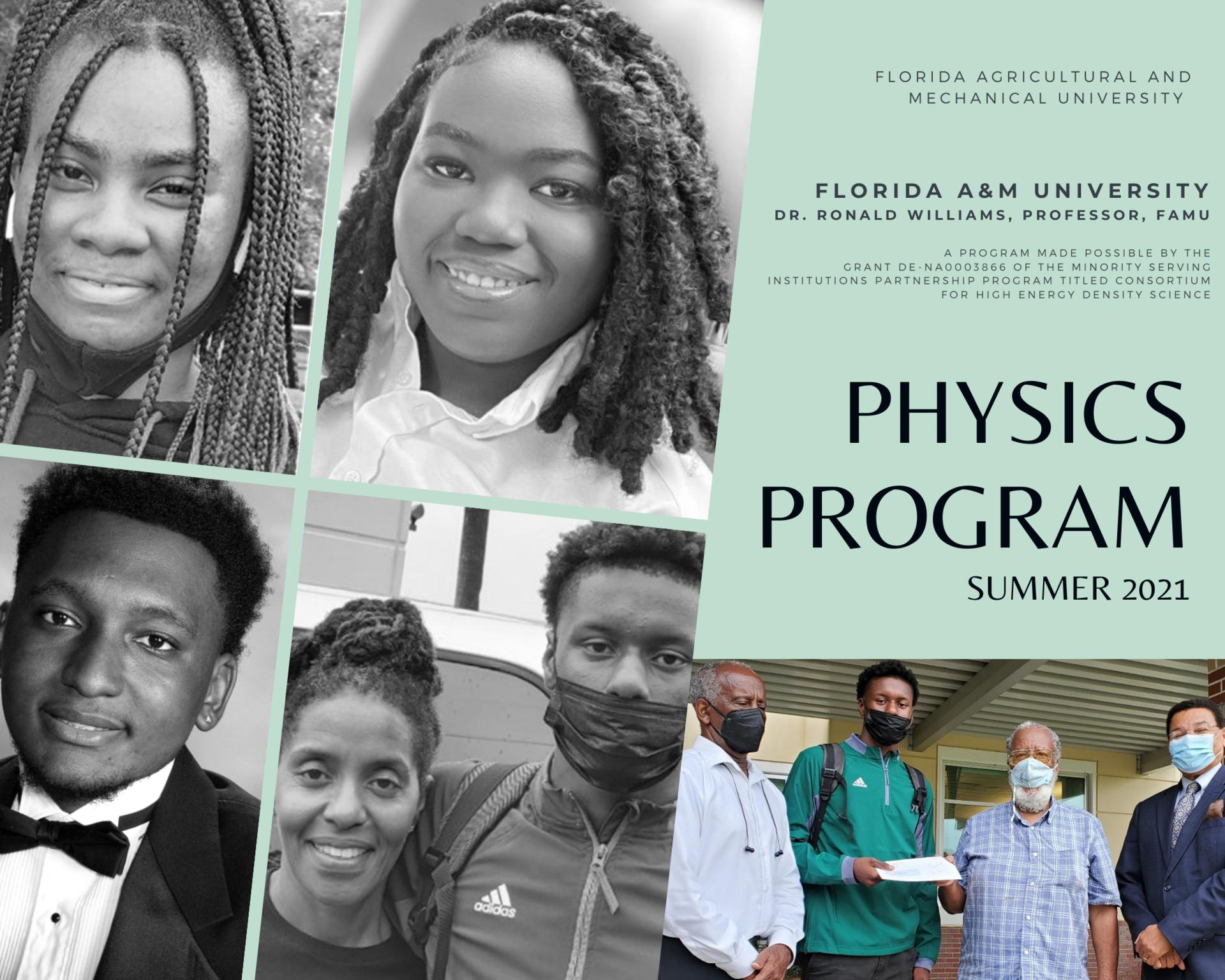 FAMU Summer 2021 Physics Program