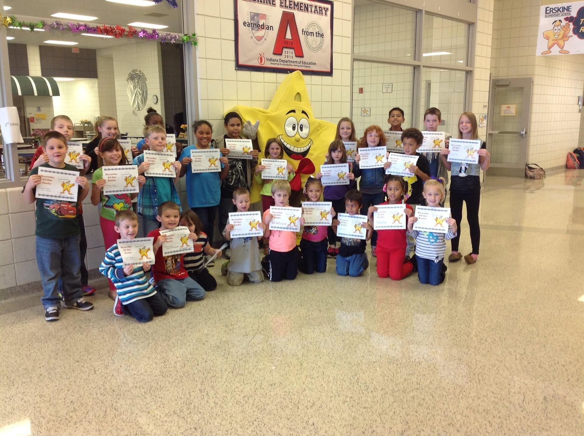 Students excel in elementary school