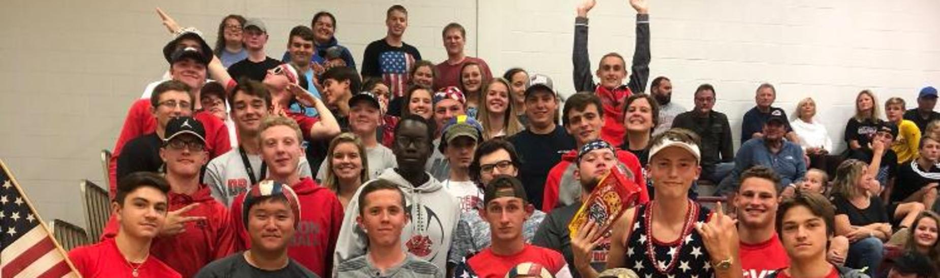 CHS Student Section!