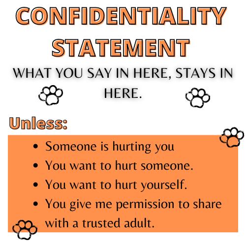 Confidentiality Statement