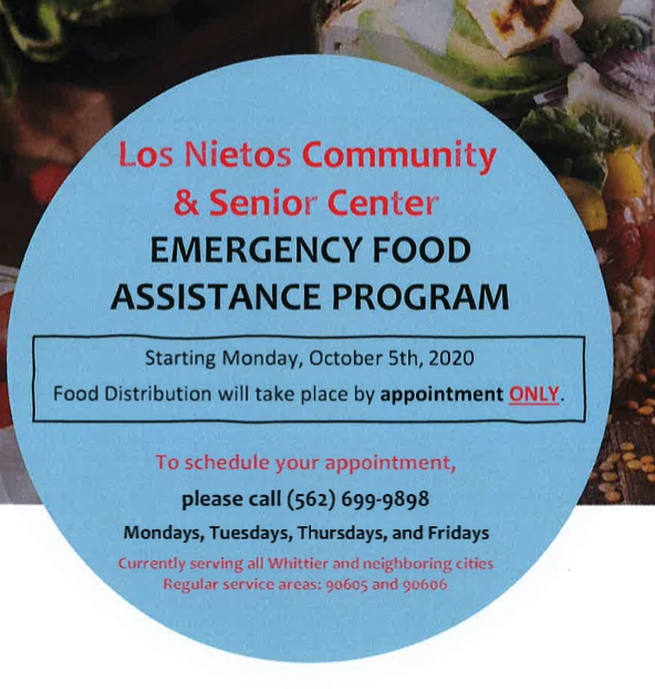 Los Nietos Community & Senior Center-Emergency Food Assistance Featured Photo