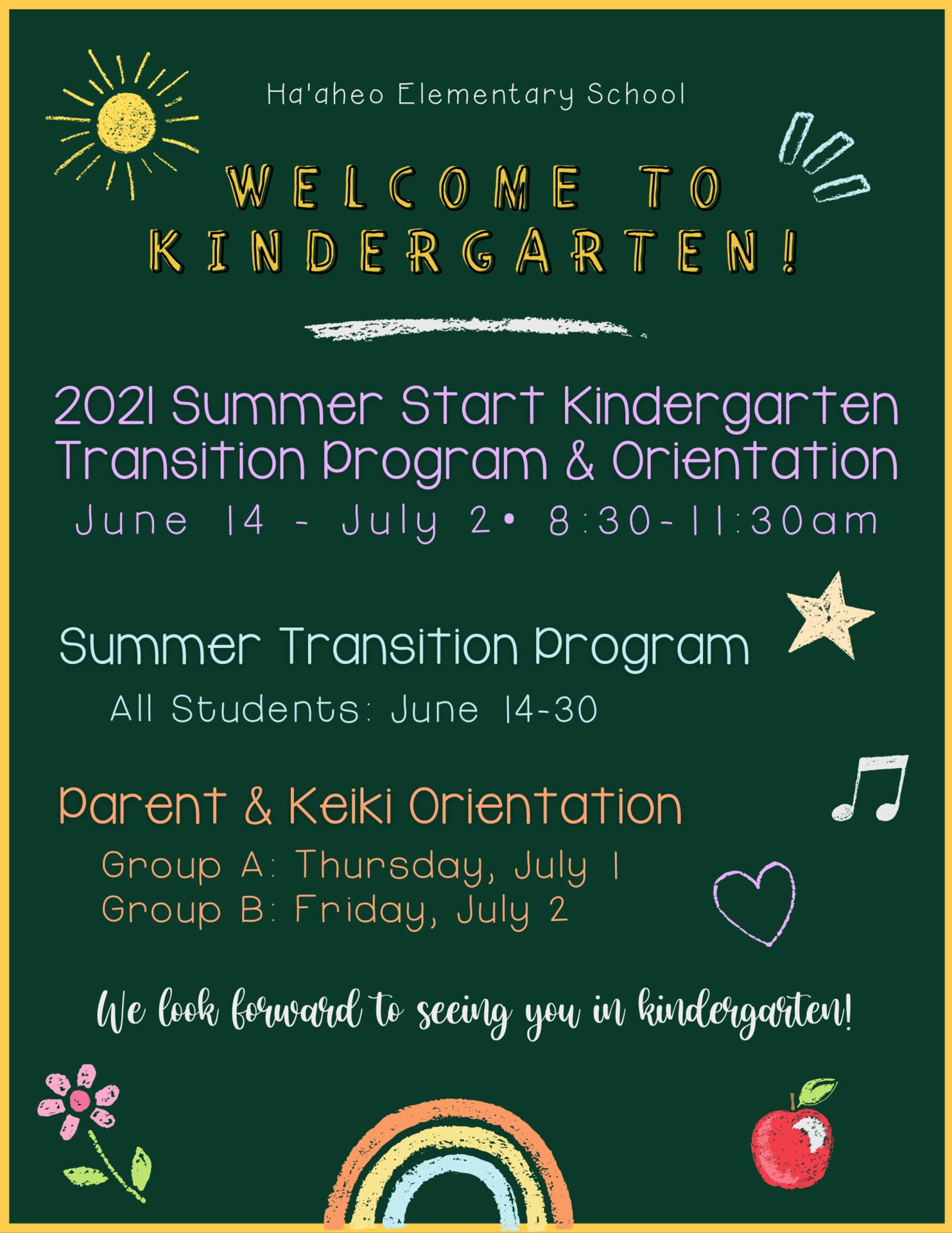 2021-22 Kindergarten