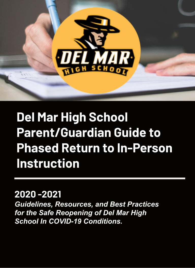 del mar high school guide to phased return to in person instruction in spring 2021