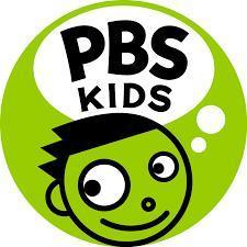Green cartoon logo, a young boy's face inside a circle