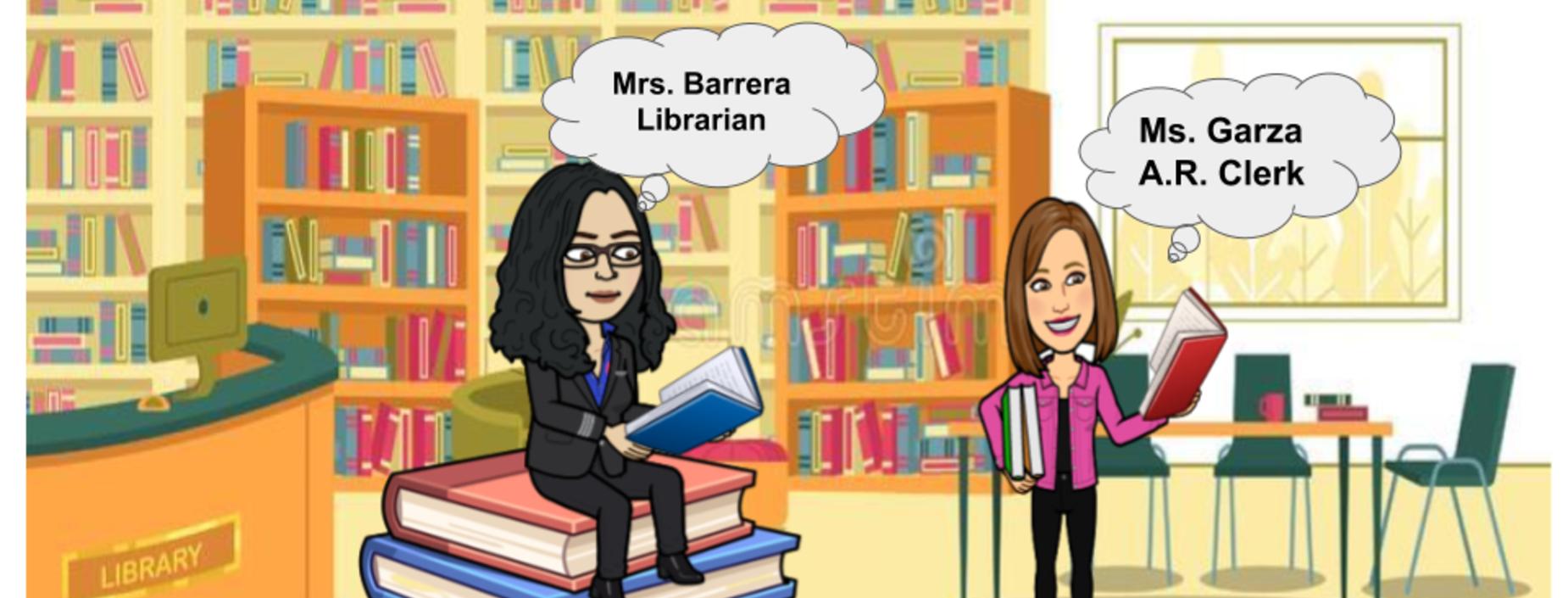Library Bitmoji