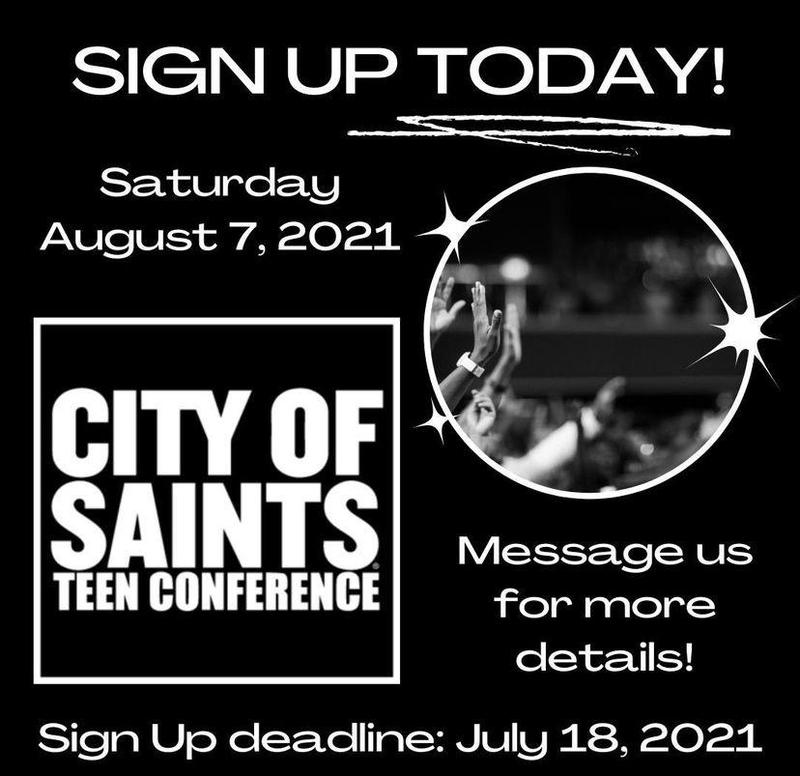 City of Saints Teen Conference Featured Photo