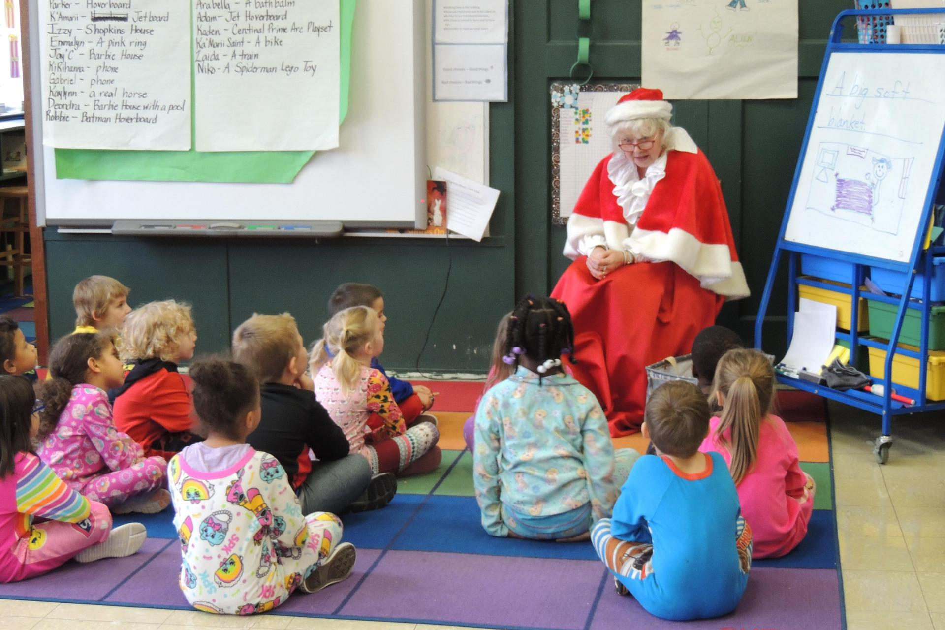Visit with Mrs. Claus