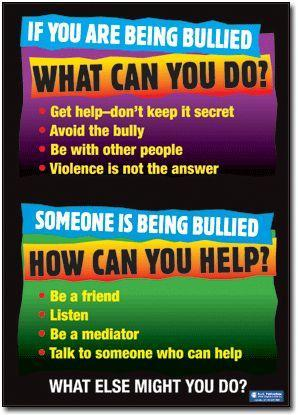 Don't be silent! Report A Bully!