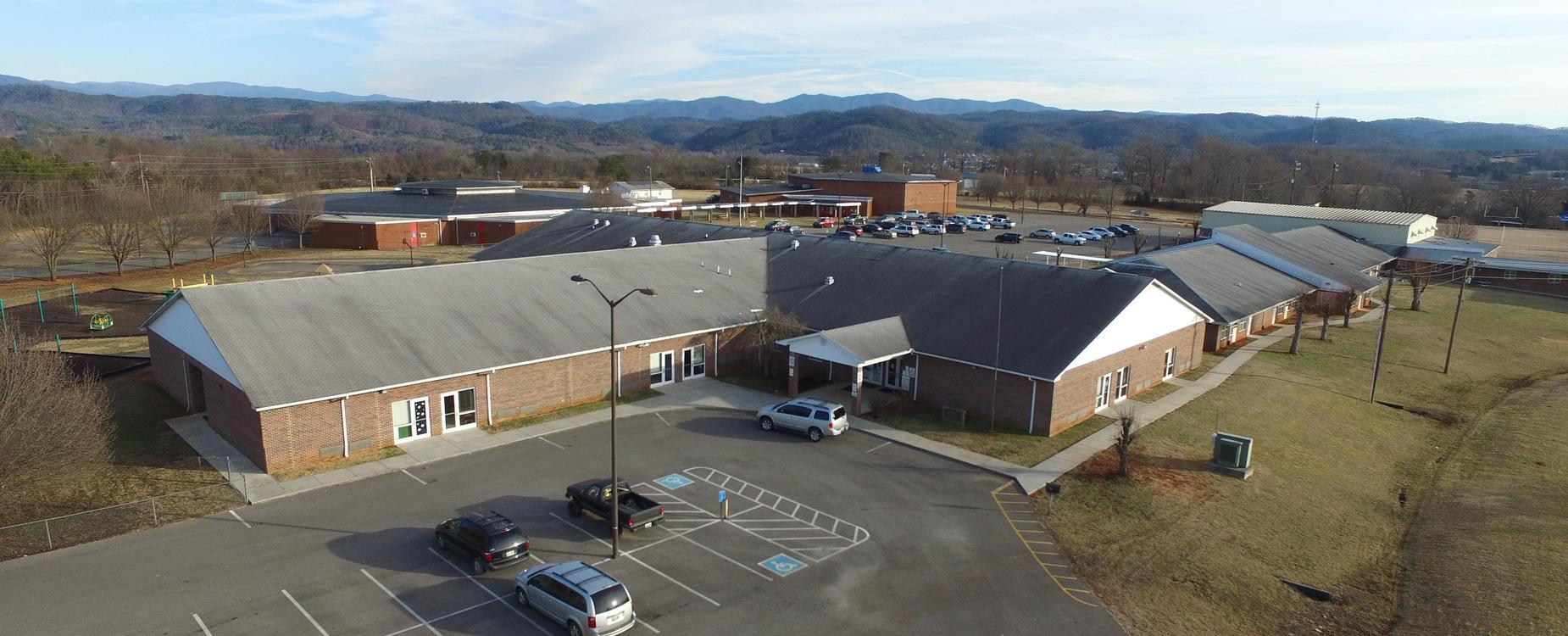 Aerial view of TPES