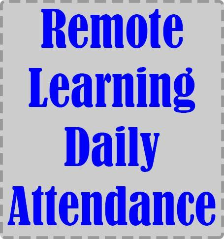 Remote Learning Daily Attendance