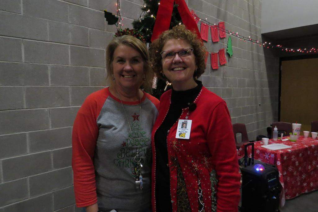 MRS. MARTEL AND MS. EATON