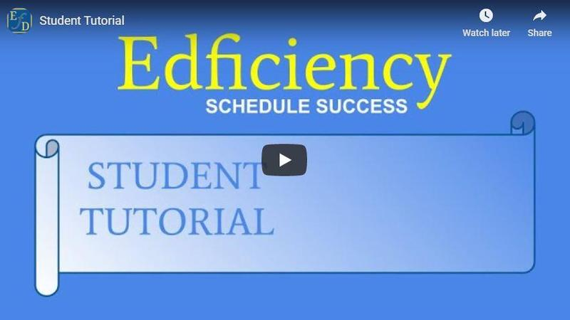 STUDENTS: Click here to watch how to access Edficiency for tutorials! Featured Photo