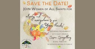 Women of All Saints Fall Event Featured Photo
