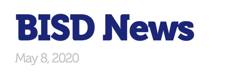 BISD News 5/8/20