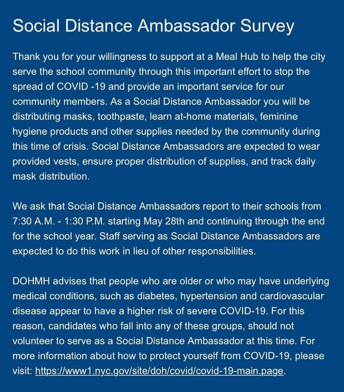 Social Distancing Ambassador Featured Photo