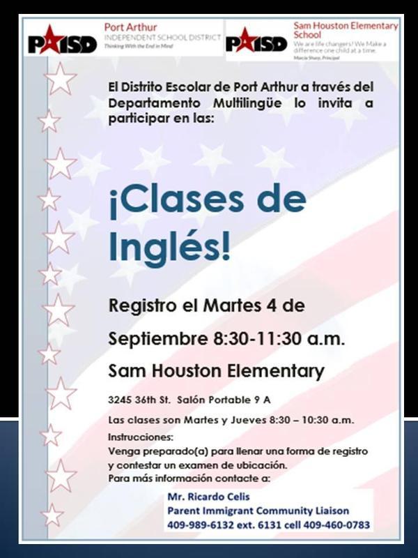 English Class Houston