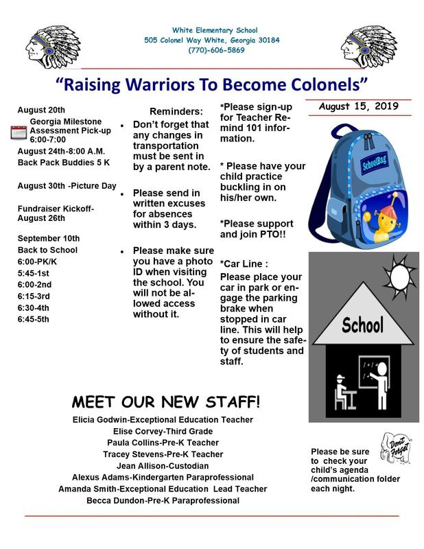 WES 2019-2020 Newsletter Featured Photo