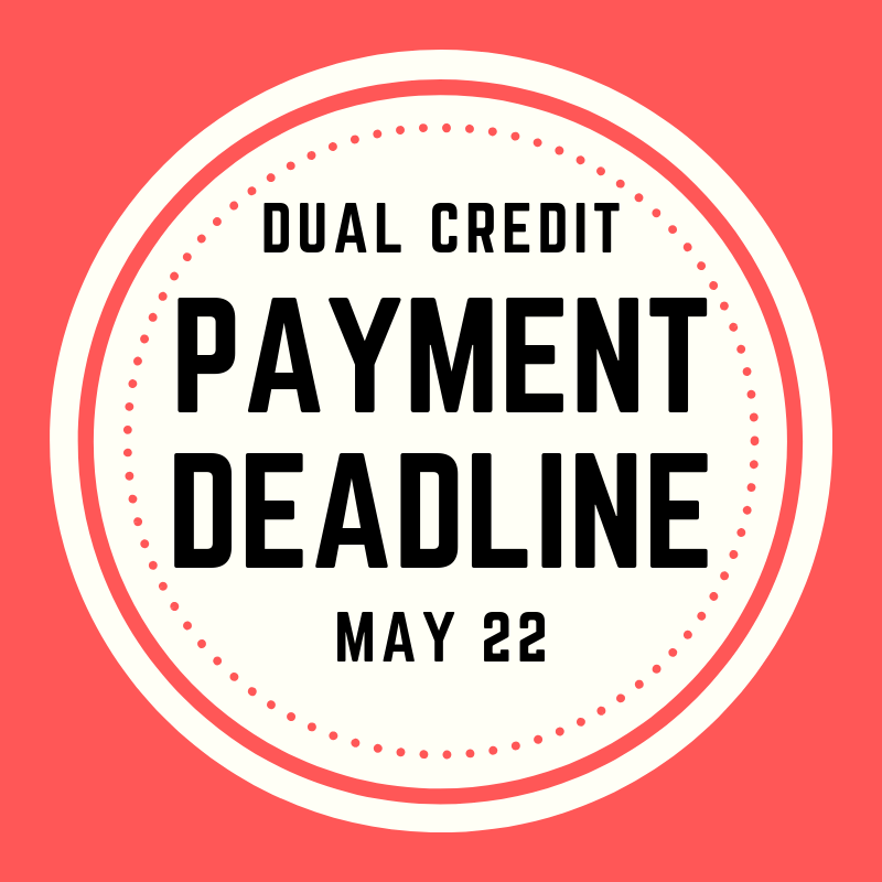 NCTC DUAL CREDIT PAYMENT DUE Thumbnail Image