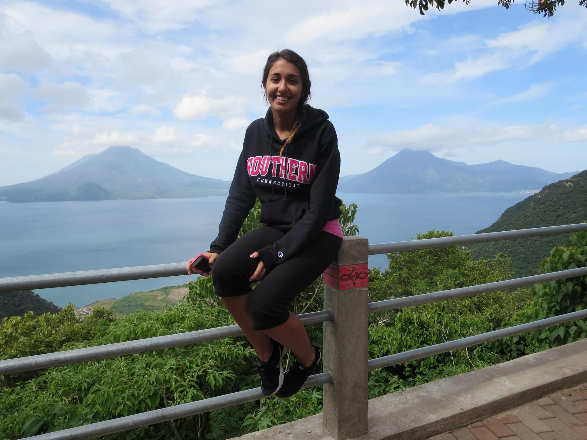 Kelly Janowitz abroad in Guatemala
