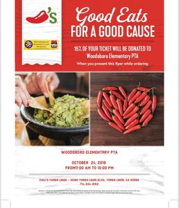 Fundraiser PTA Chili's