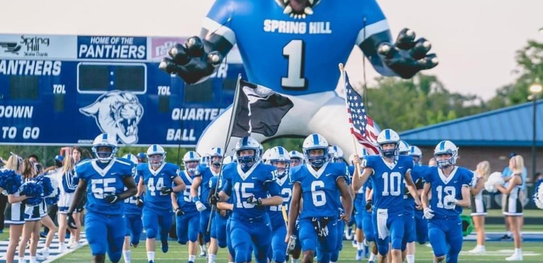 2020 Spring Hill football