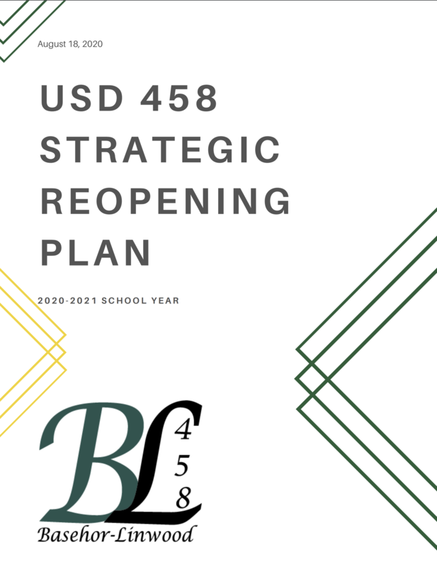 Strategic Reopening Plan Cover