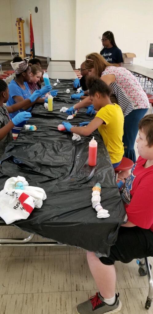 Tie-Dye shirt/socks