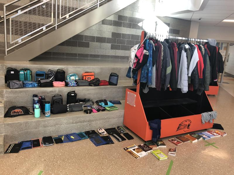 Lost and found items picture