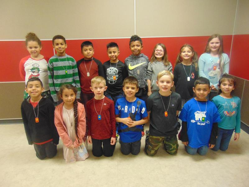 2nd Grade December Student of the Month Featured Photo