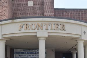 Photo of the front entrance of Frontier